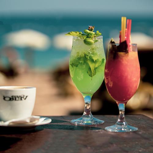 Kamenovo Beach cocktails