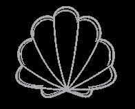 Kamenovo Beach logo