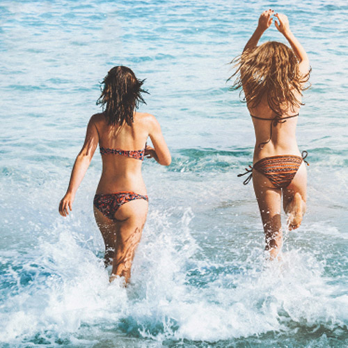 Kamenovo Beach beautiful women