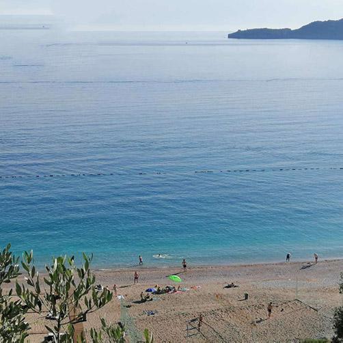Kamenovo Beach sea