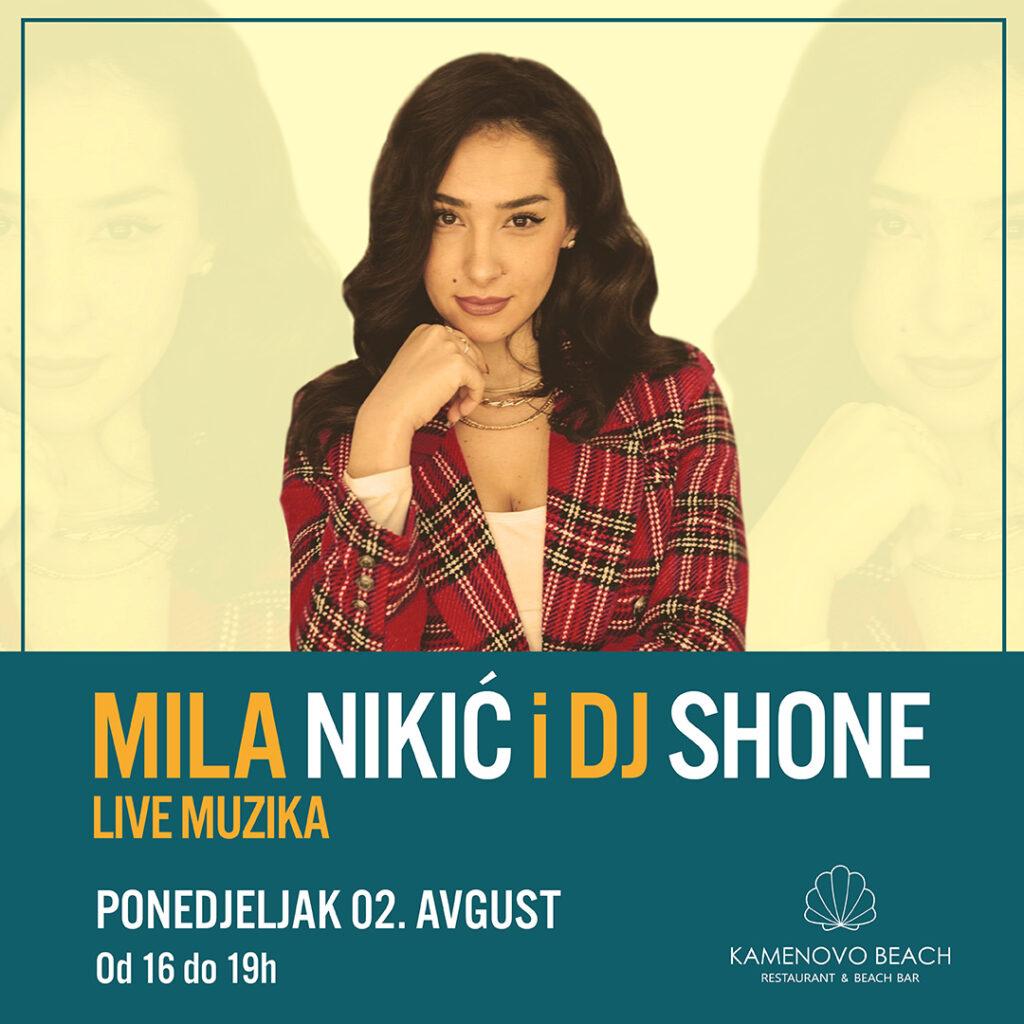 Kamenovo Beach Mila Nikic & DJ Shone