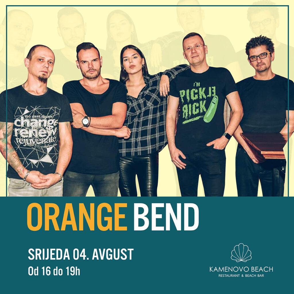 Kamenovo Beach Orange Bend