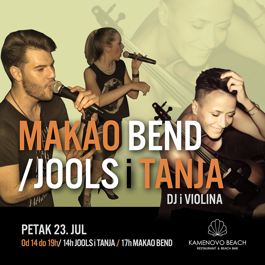 Kamenovo Beach Makao Bend & Jools & Tanja