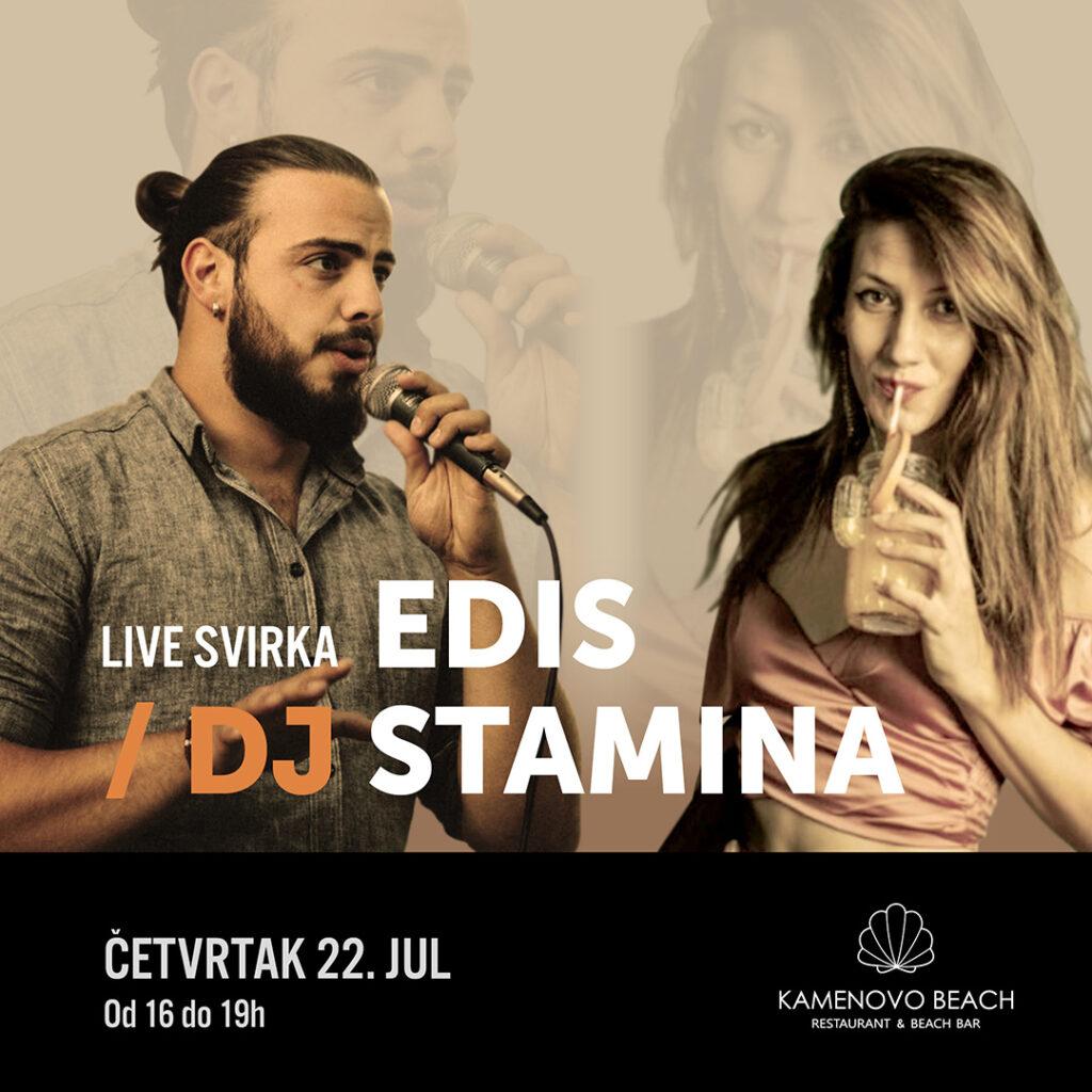 Kamenovo Beach Edis Agic & DJ Stamina
