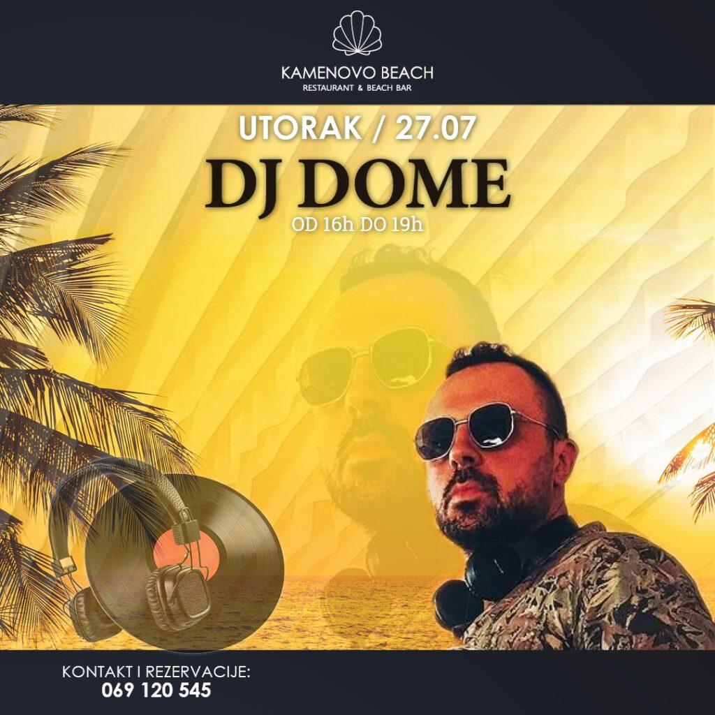 Kamenovo Beach DJ Dome