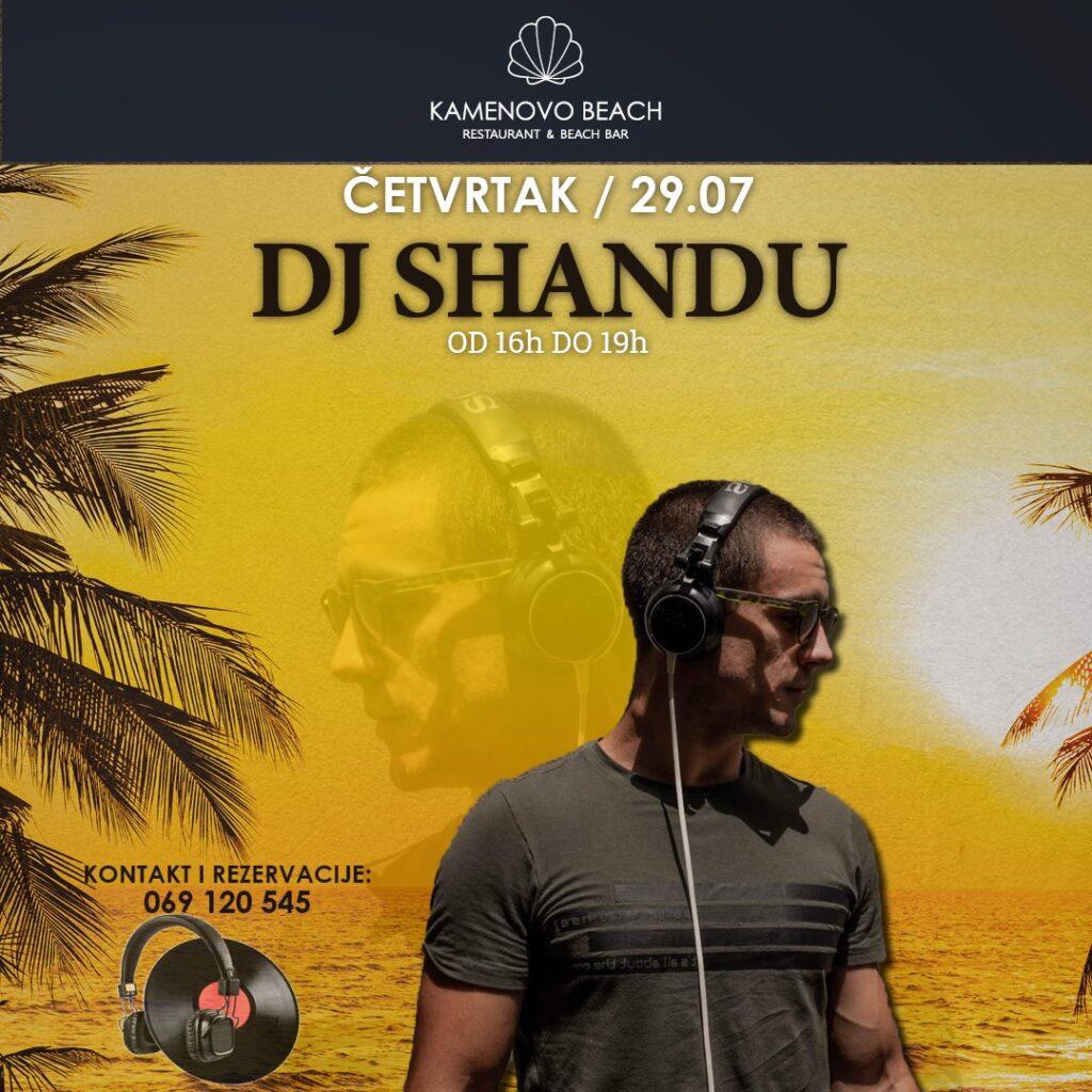 Kamenovo Beach DJ Shandu