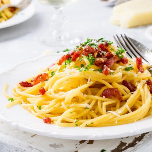 Kamenovo Beach spaghetti